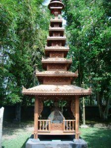 Arca di Vihara Mendut