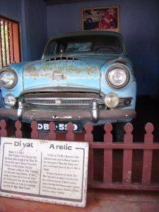 Mobil di Thien Mu