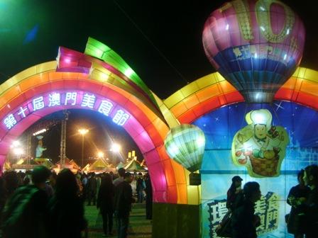 Festival makanan.