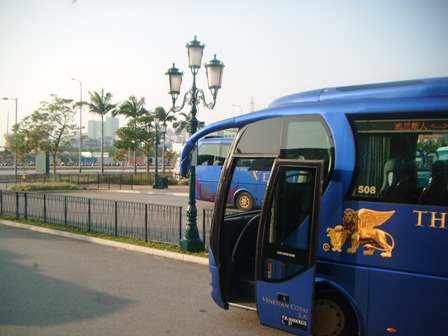 Shuttle bus Macau