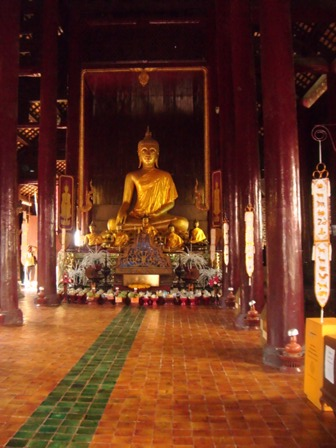 Arca Buddha Wat Phan Tao