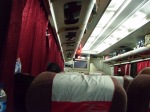 The convenient night train that brought us to Jogjakarta from Jakarta.
