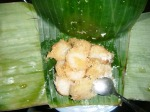 Our breakfast one morning. Jogjakartan culinary is known for its sweet taste, so if you don't like sweet, be warned.