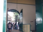 Giant doors in the kraton.