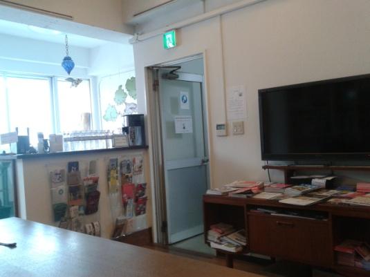 Ruang bersama Bonsai Guest House.