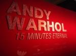Pameran Andy Warhol: Sayang tak boleh berfoto di dalam.
