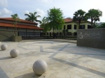 Bagian depan Malay Heritage Center, masih di Kampong Glam.